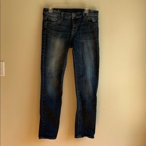 Kut From The Kloth blue straight leg jeans 8